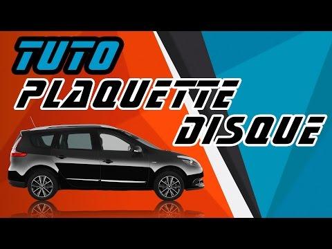 TUTO Renault Scenic 3 changer plaquettes et disques frein arrière sans valise CLIP