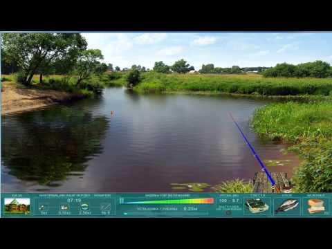 Играю в игру Наша рыбалка #1 Начало развития