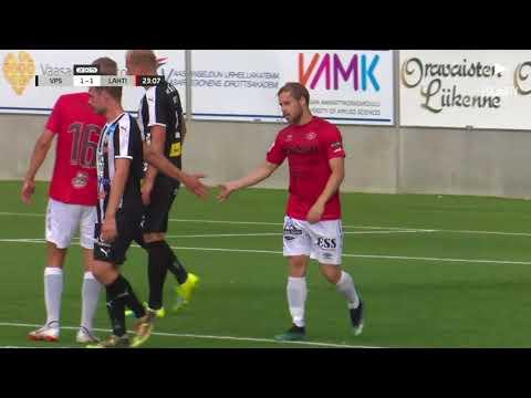 FCLahtiTV: Karjala ottelukooste: VPS - FC Lahti 2-2 (2-1) 30.7.2018