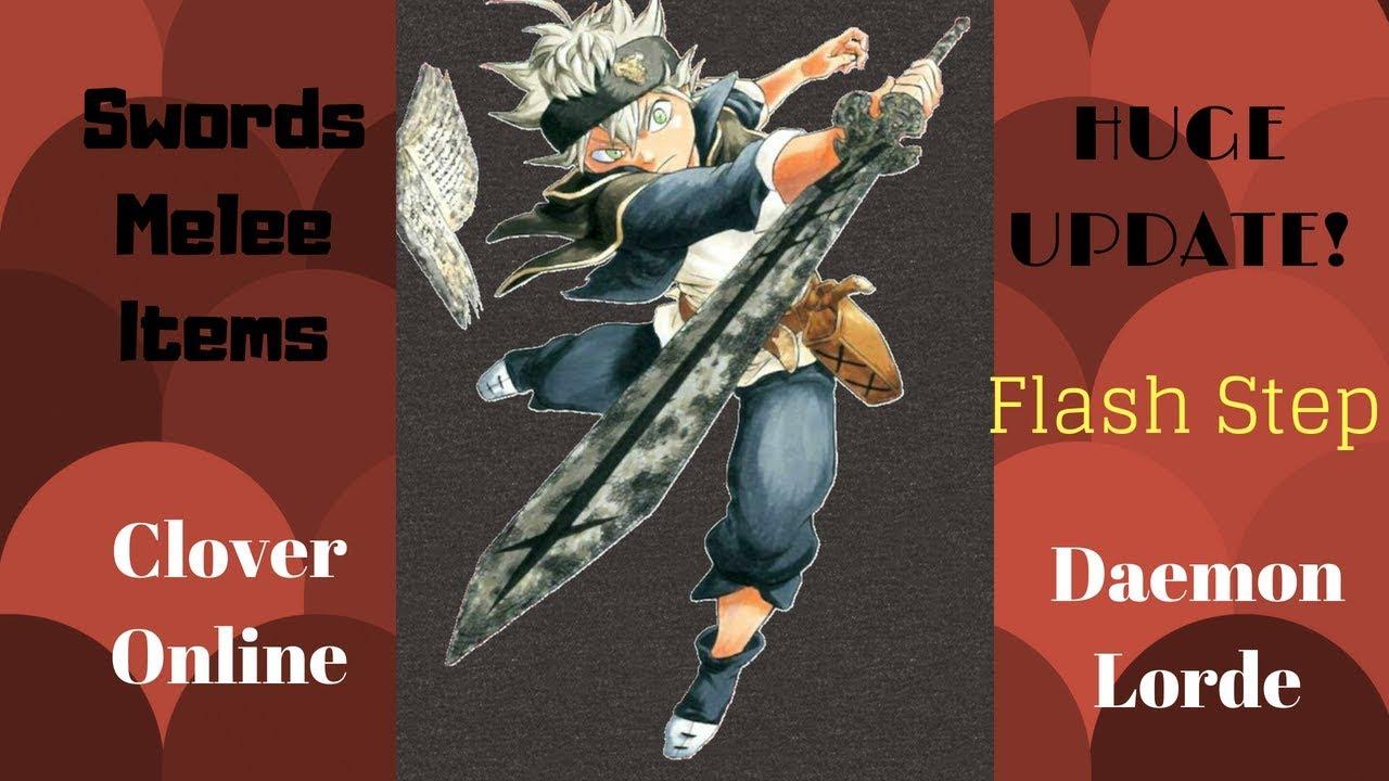 Swords New Clover Online Update New Melee Quest - clover online roblox wiki