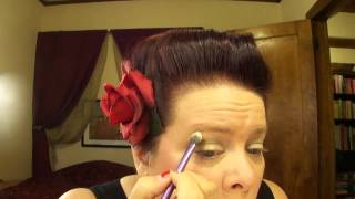 Easy Everyday Vintage Pin-Up Makeup Tutorial