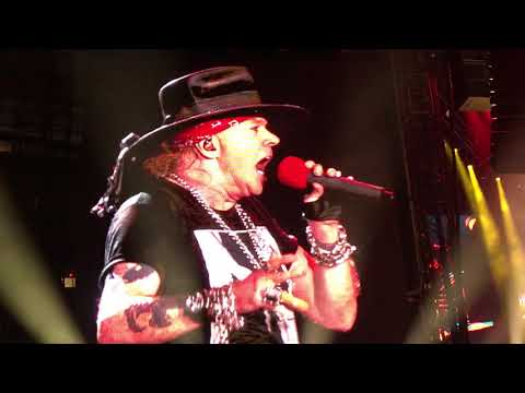 Guns N Roses You Could Be Mine Vancouver 2017