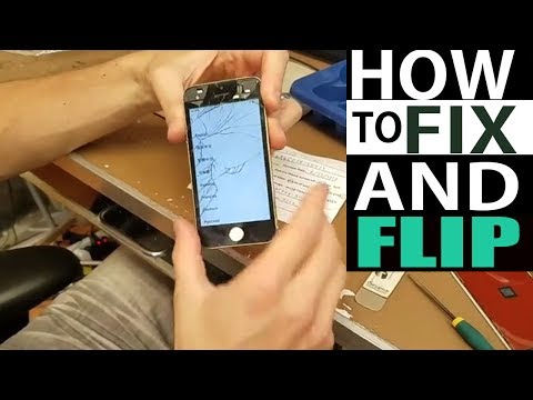 How To Fix and Flip iPhones  $5 paid  turned into $110 sale