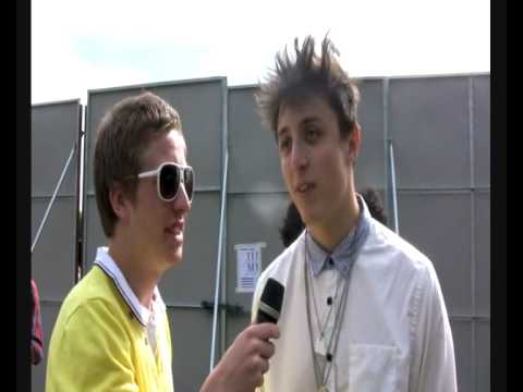 Golden Silvers Interview (Underage Festival 2009) | SPG