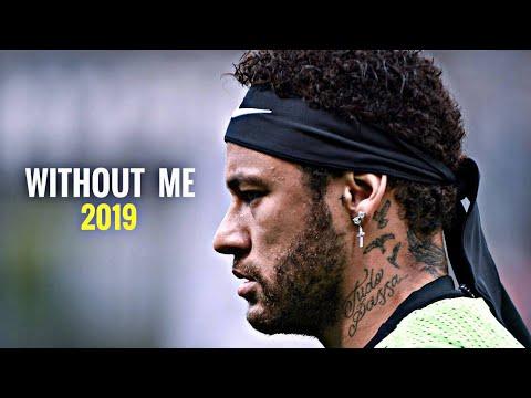 Neymar WithoutMe PSG Neymar Jr  Without Me - Hasley  Skills & Goals  2019