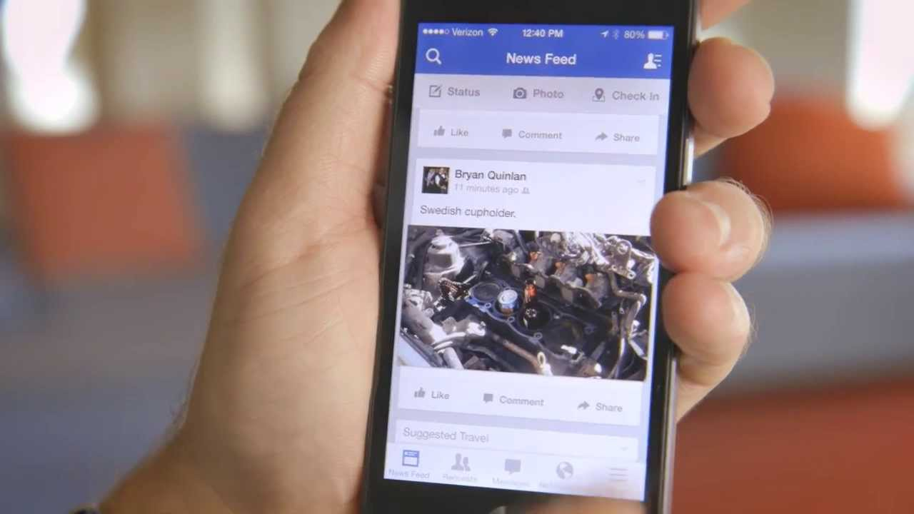 Facebook adds dedicated gaming tab to its mobile app - The ... |Facebook Mobile App