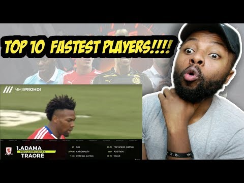 Top 10 Fastest Football Players 2017 ● HD Reaction