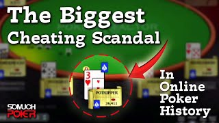 The biggest cheating scandal in online poker history