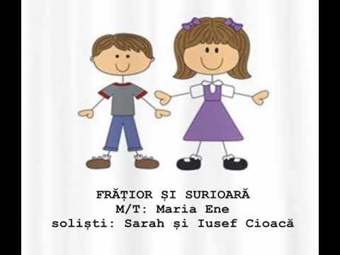 FRĂȚIOR ȘI SURIOARĂ – Cantece pentru copii in limba romana