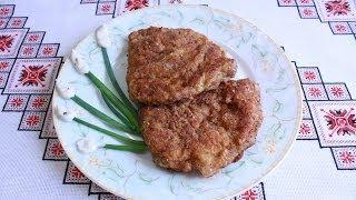 Свиные отбивные рецепт Свинина рецепт Что приготовить из мяса Свинні відбивні Свиная отбивная свинна