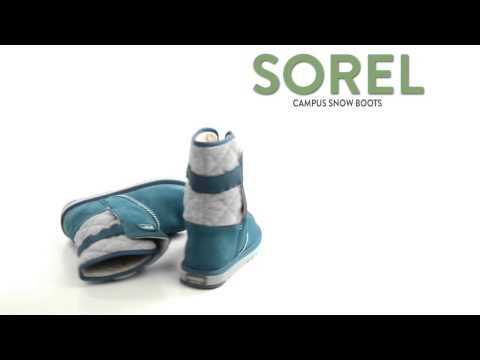Sorel The Campus Boots - Suede-Felt  (For Youth Girls)