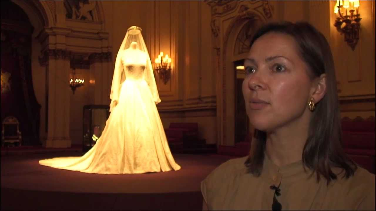 The Royal Wedding Dress: A story of Great British Design - YouTube
