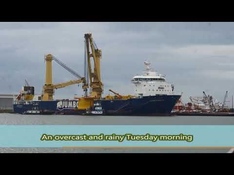 Deep Down Inc product for client, shipping to Africa-Heavy lift video at Galveston Oct 20