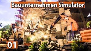 BAUUNTERNEHMEN SIMULATOR 🏗️ ABRISS und BAU Simulation ► Demolish And Build 2018 deutsch