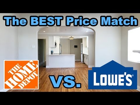 Renovation Day 35: Home Depot vs Lowes price match! And other ways to save money!