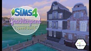 Modern Grachtenpand - Deel 1   Sims 4 Lets Build Nederlands