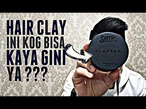 HAIR CLAY INI KOG BISA GINI YA ?? | Review Premium Clayton Dari SMITH Men Supply