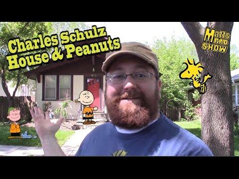 Charles Schulz Home - Saint Paul Peanuts Characters - Matt's Rad Show