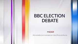 BBC Election Debate Live | UK Election 2015 | Sky News