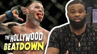 Tyron Woodley Throws Down $10k Bet For Colby Covington 'Can't Touch This' | The Hollywood Beatdown
