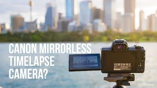 Canon EOS M50 mirrorless camera review by a timelapse photographer