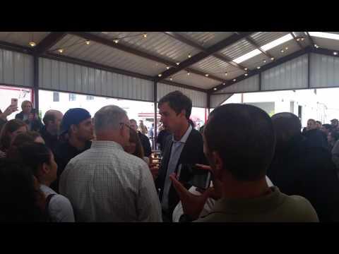 Beto O'rourke in Dallas campaigning 2017