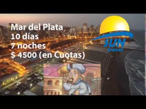 Sun Travel  Reducción Mar del Plata  4500