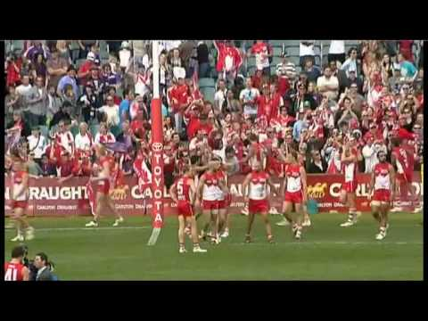 Shane Mumford - Sydney Swans - Mummy Magic, Round 20 2010