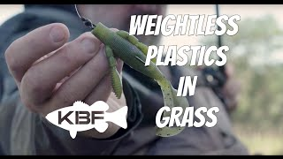 How To Fish Weightless Soft Plastics In Grass