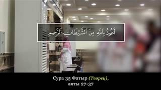 Абд ар-Рахман Ар-Рушуд. Сура 35 Фатыр (Творец), аяты 27-37