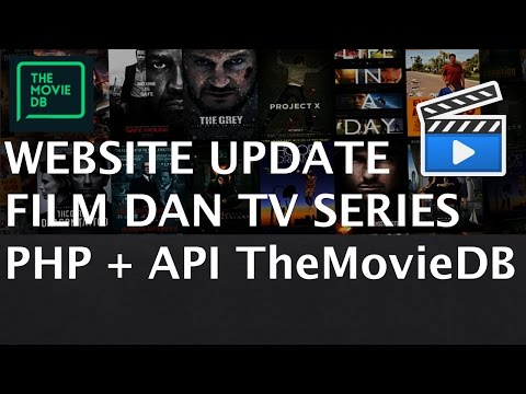 Membuat Website Update Film & TV Series (PHP + TMDB API - Th