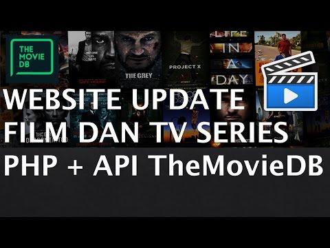 Membuat Website Update Film & TV Series dengan PHP dan API The Movie Database