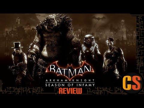 BATMAN: ARKHAM KNIGHT SEASON OF INFAMY - REVIEW
