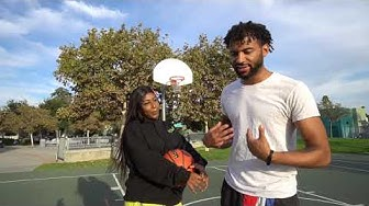 1v1 STRIP BASKETBALL CHALLENGE AGAINST MY GIRLFRIEND!! 😯(THINGS GOT STEAMY)