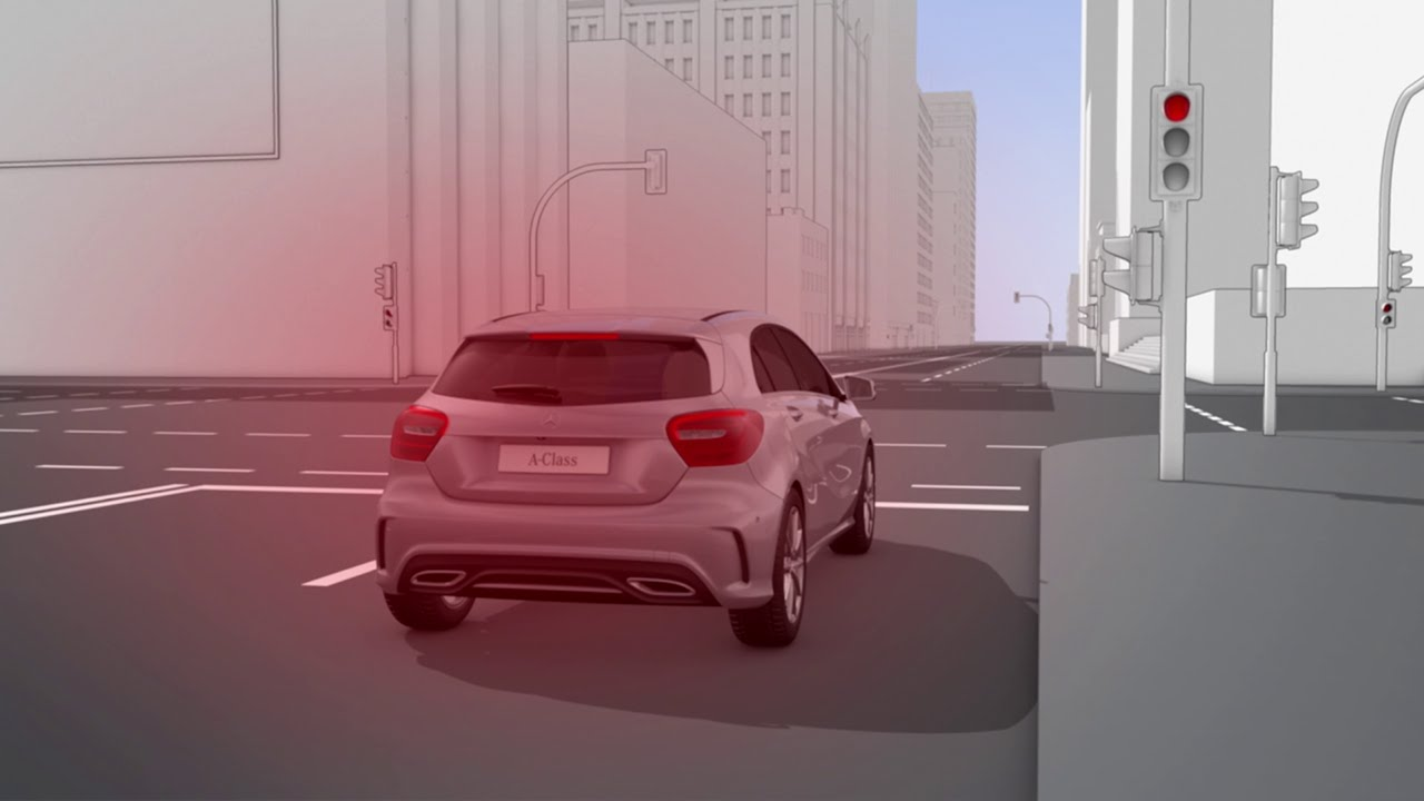 A Class Eco Start Stop Function Mercedes Benz Original