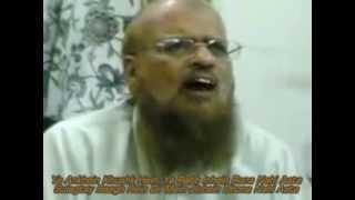 M Taqi Usmani Sb. (Ilahi Teri Chokhat pe Bhikari Ban Ker Aayaa hon)