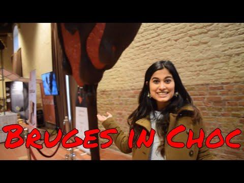 Bruges in Choc (Chocolate event in Bruges, Belgium)