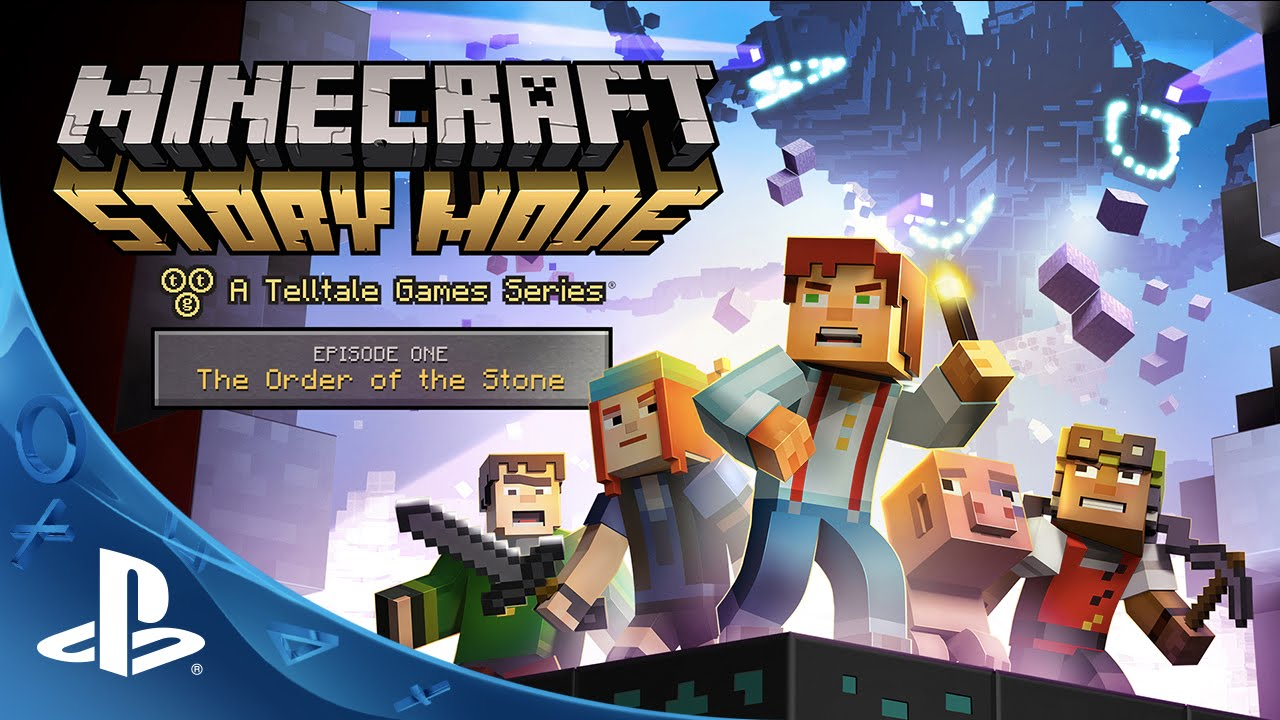 Minecraft: Story Mode - Episode 1: The Order of the Stone Trailer | PS4, PS3