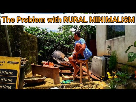 Massive Backyard Declutter - What it Takes to Live Minimally in a Rural Cottage