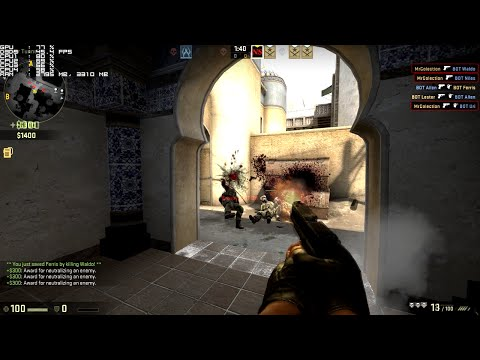 Counter-Strike: Global Offensive - on [ Core 2 Quad Q6600 & 9600GT ]