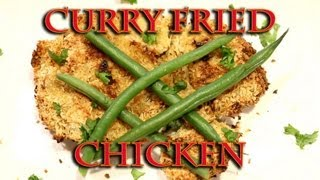 Gluten Free Curry Fried Chicken - Oven Fried