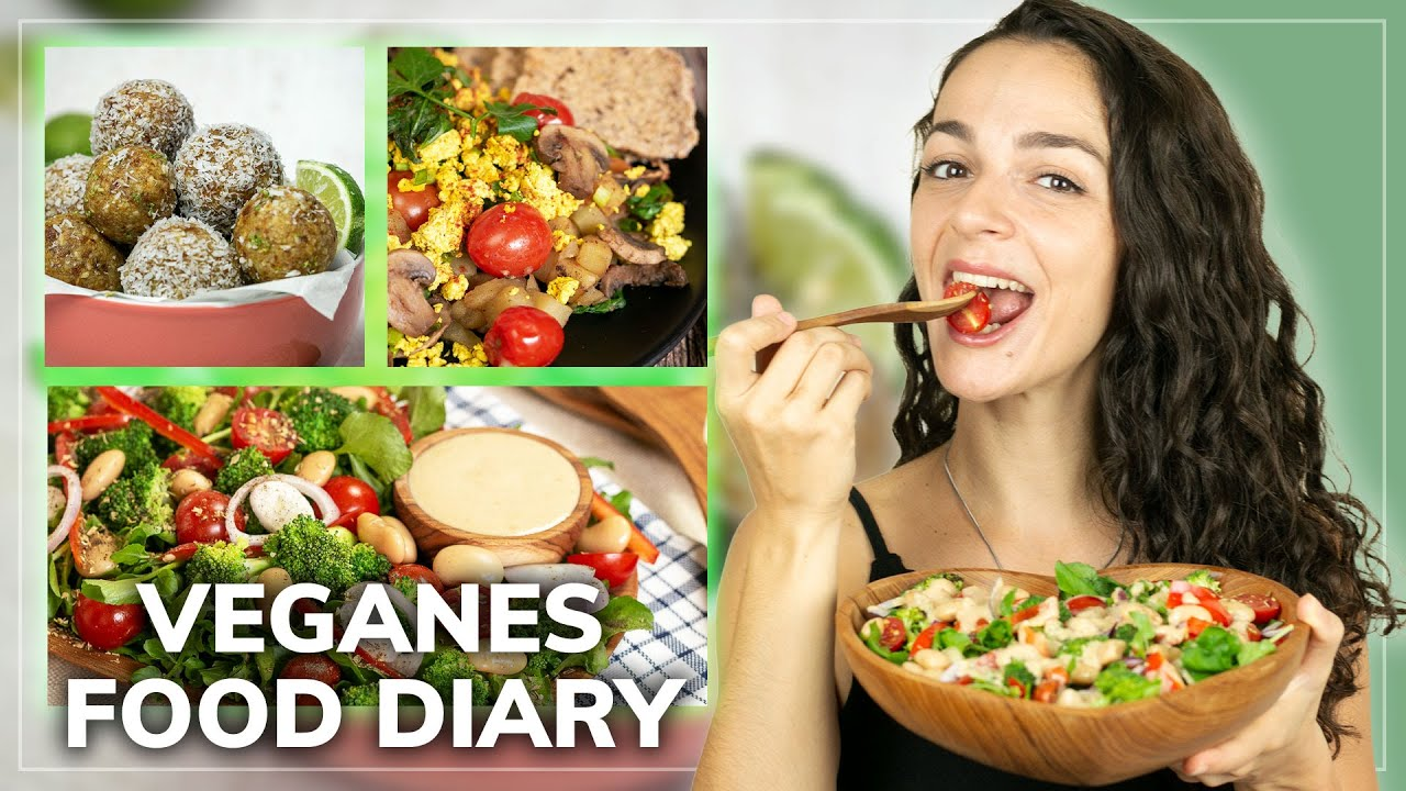 What I Eat in a Day | Was ich an einem Tag esse + 3 vegane Rezepte 🍉🥗