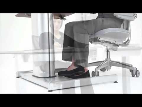 Cape Town Float Height Adjustable Desk - OfficeScene