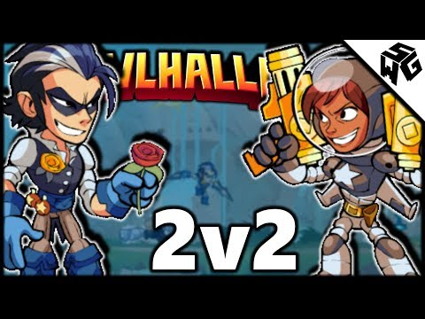 "Ranked 2v2's w/ HottShottScott - Brawlhalla Gameplay :: ""I Just Hit You"""