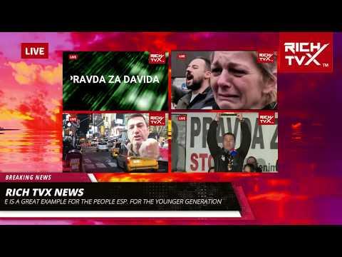 """Davor Dragičević is""""A Giant For Justice"""" Whose """"Pravda Za Davida"""" Inspires People Worldwide"""