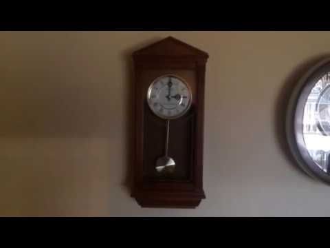 Seiko Battery-Operated Dual-Chime Wall Clock Westminster