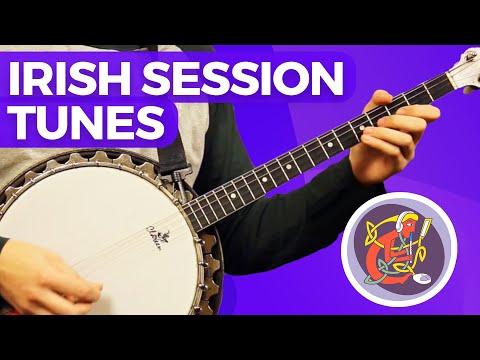 Irish Tenor Banjo Lesson: Learn Ornamentation + Toss the Feathers [Reel]