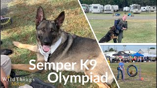 Service Dog Olympics!  Service dogs for military veterans.  To learn more visit, www.SemperK9.org