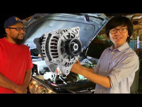 How To Remove Alternator Hyundai Sonata 6th Gen 2.4L 2010 2011 2012 2013 2014 Replace Re-Install DIY