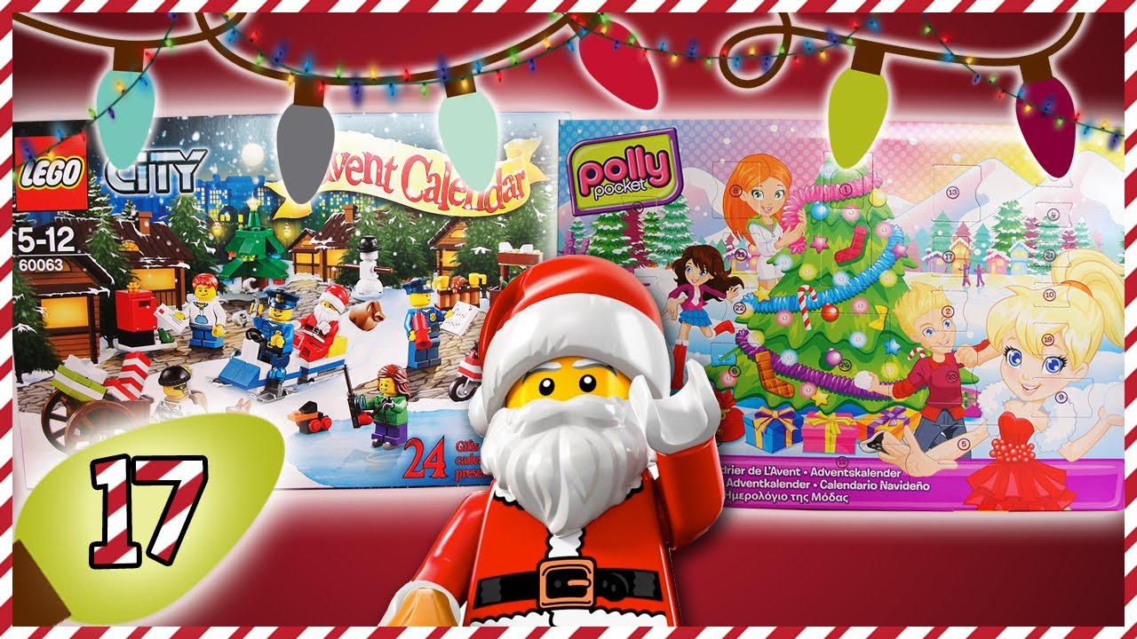 Calendario Repas.Vaizdelėdos Lego City Ir Polly Pocket Advento Kalendoriai 17 Diena Vaiku Kanalas